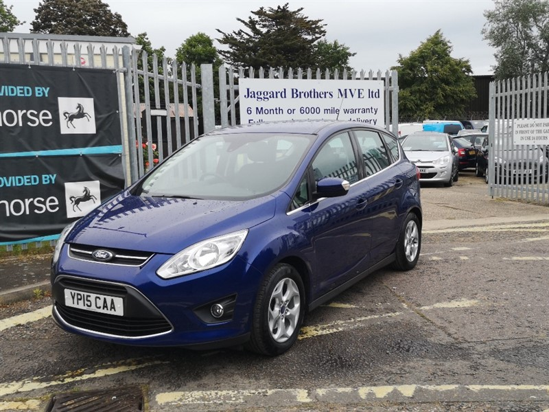 used Ford C-Max ZETEC in Newmarket-Suffolk