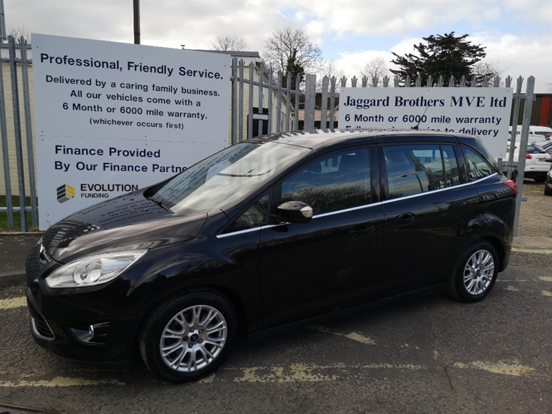 used Ford C-Max GRAND TITANIUM in Newmarket-Suffolk