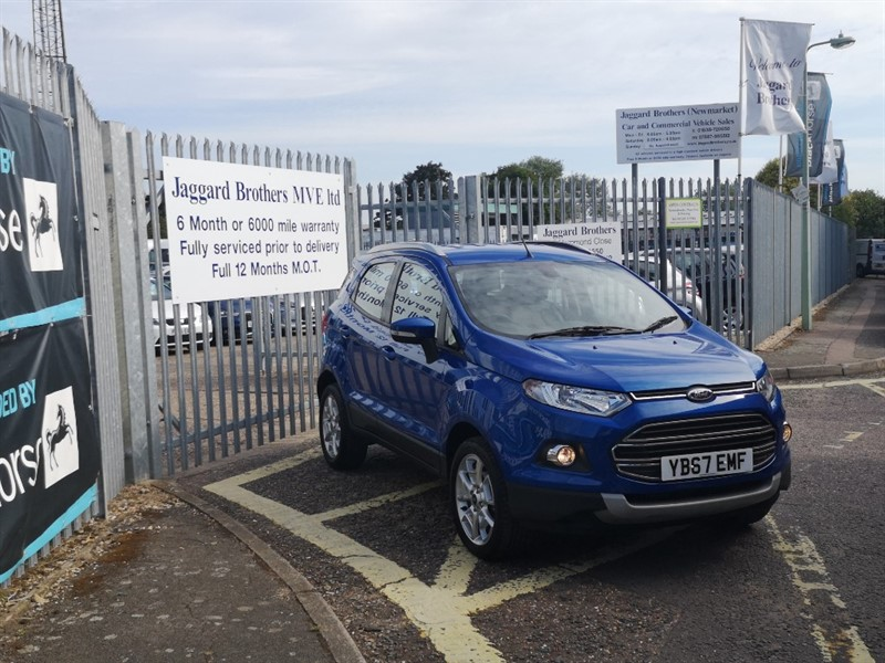 used Ford EcoSport TITANIUM in Newmarket-Suffolk