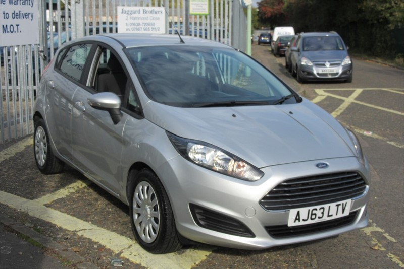 used Ford Fiesta 1.5 Tdci Style AC 5DR in Newmarket-Suffolk