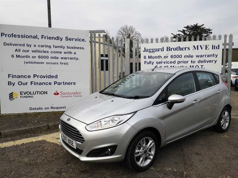 used Ford Fiesta ZETEC in Newmarket-Suffolk