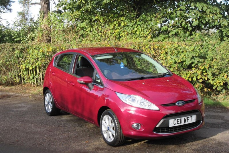 used Ford Fiesta ZETEC TDCI in Newmarket-Suffolk