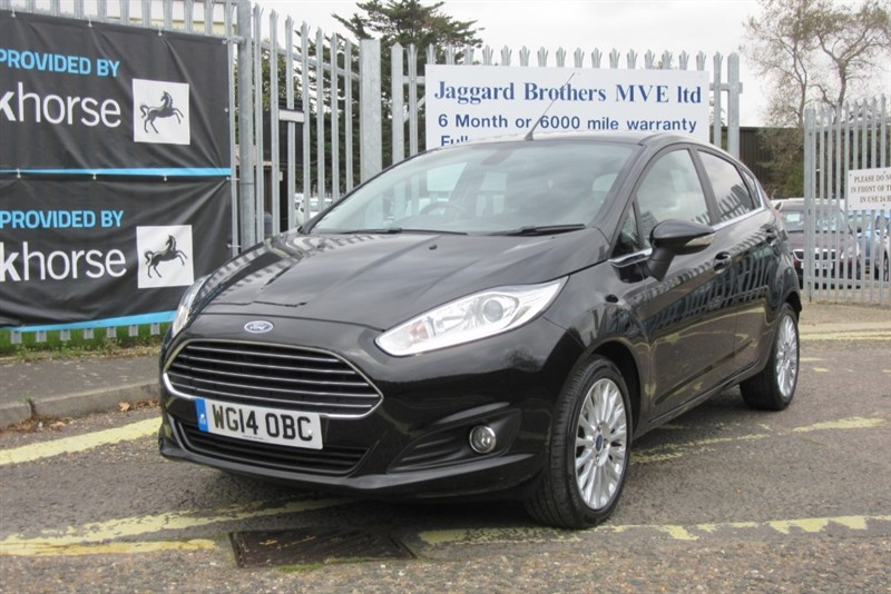used Ford Fiesta TITANIUM in Newmarket-Suffolk