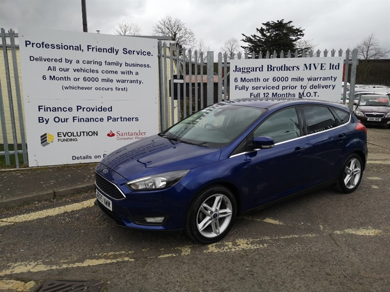 used Ford Focus ZETEC TDCI in Newmarket-Suffolk