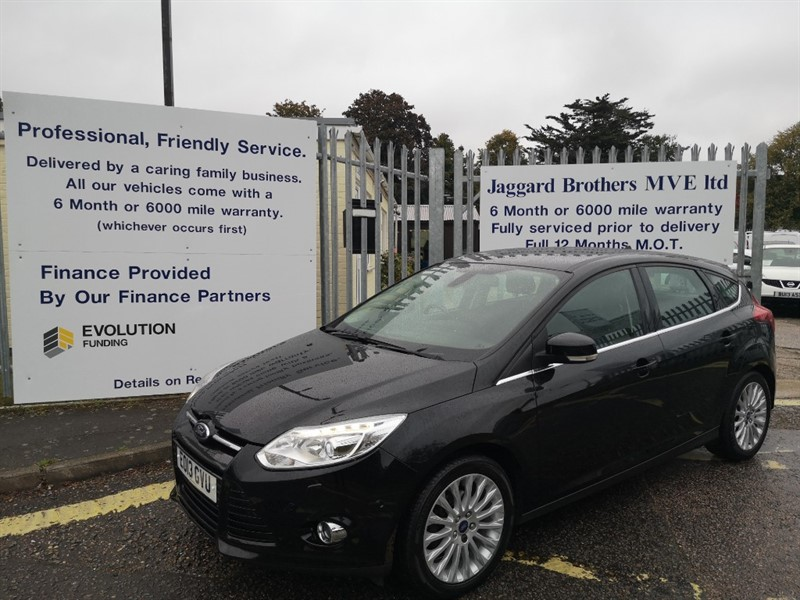 used Ford Focus TITANIUM X in Newmarket-Suffolk