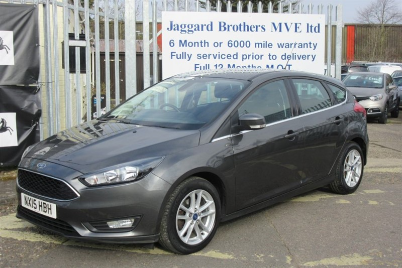 used Ford Focus ZETEC in Newmarket-Suffolk