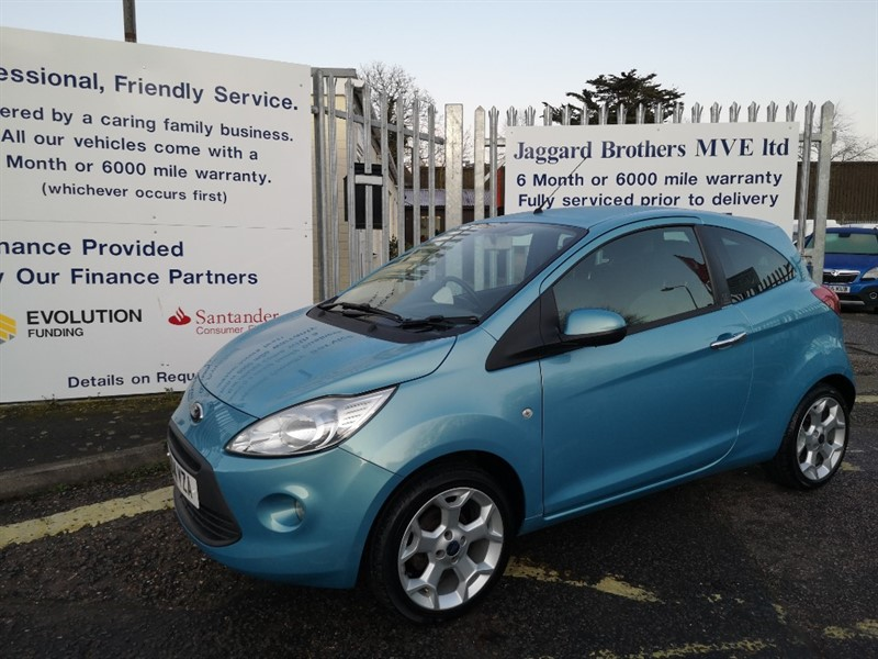 used Ford KA TITANIUM in Newmarket-Suffolk