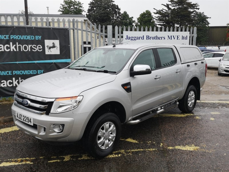 used Ford Ranger XLT 4X4 DCB TDCI in Newmarket-Suffolk