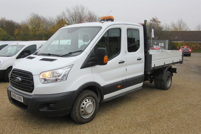used Ford Transit 350 L3 DCB C/C DRW in Newmarket-Suffolk