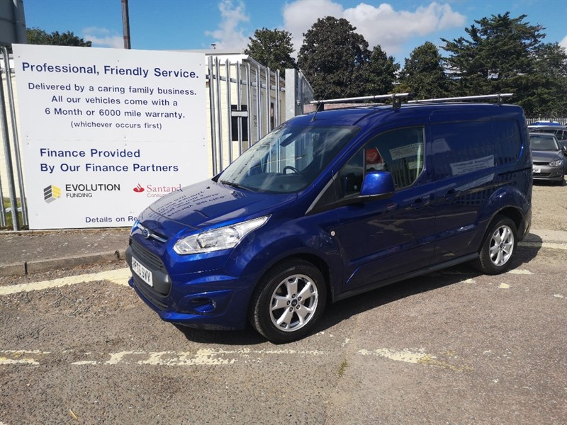 used Ford Transit Connect 200 LIMITED P/V in Newmarket-Suffolk