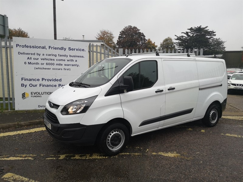 used Ford Transit Custom 290 LR P/V in Newmarket-Suffolk