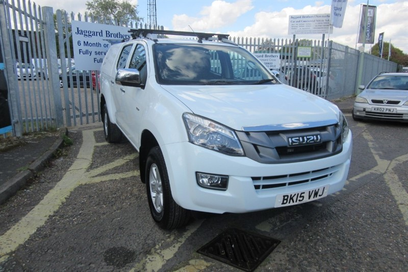 used Isuzu D-Max TD EIGER DCB in Newmarket-Suffolk