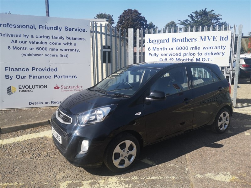 used Kia Picanto 1 AIR in Newmarket-Suffolk