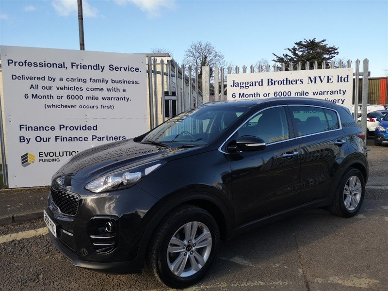 used Kia Sportage CRDI 2 ISG in Newmarket-Suffolk