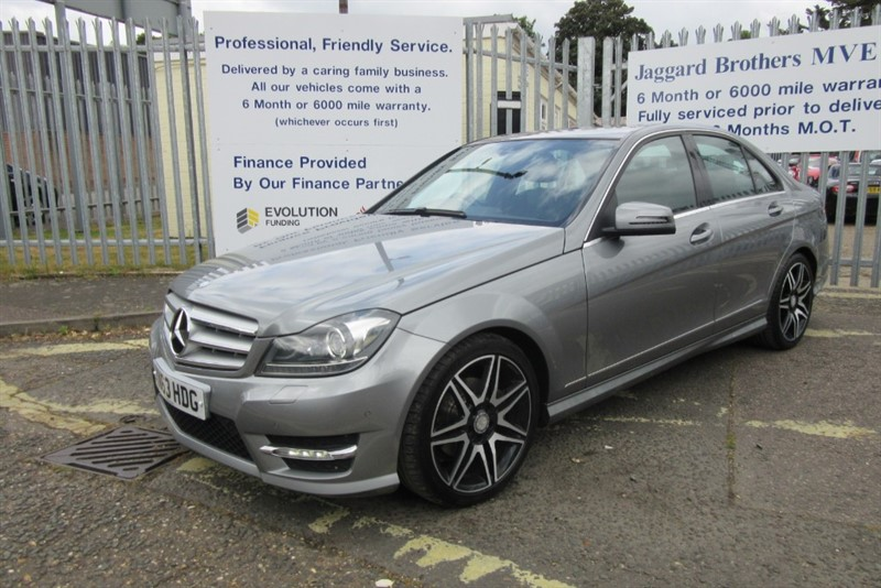 used Mercedes C220 CDI BLUEEFFICIENCY AMG SPORT PLUS in Newmarket-Suffolk