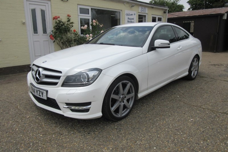 used Mercedes C250 CDI AMG SPORT EDITION in Newmarket-Suffolk