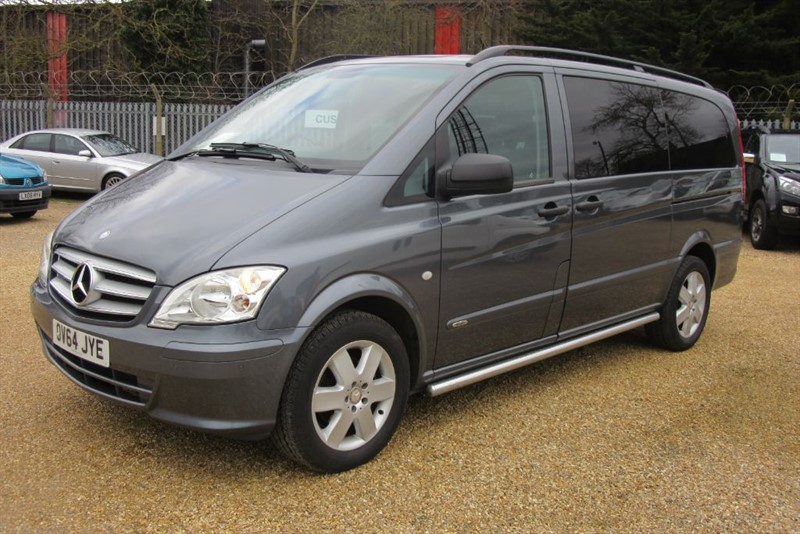 used Mercedes Vito 116 CDI DUALINER in Newmarket-Suffolk