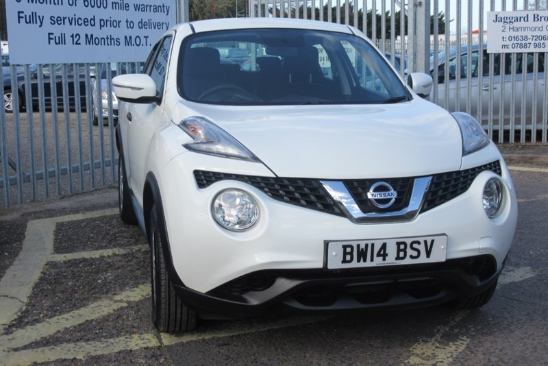 used Nissan Juke VISIA DCI in Newmarket-Suffolk