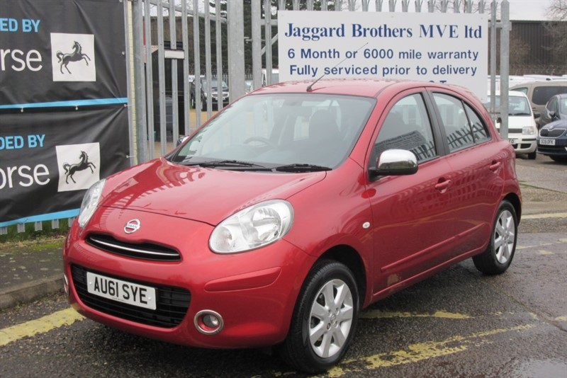 used Nissan Micra ACENTA in Newmarket-Suffolk