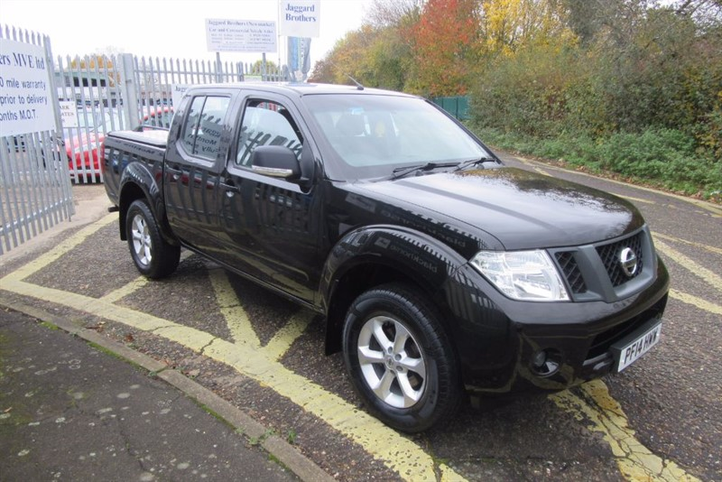 used Nissan Navara DCI VISIA 4X4 SHR DCB in Newmarket-Suffolk