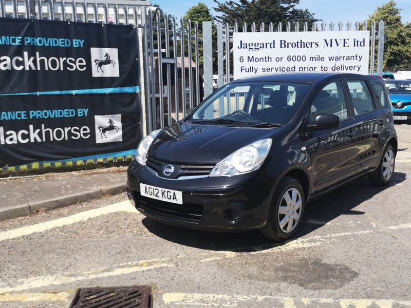 used Nissan Note Visia in Newmarket-Suffolk