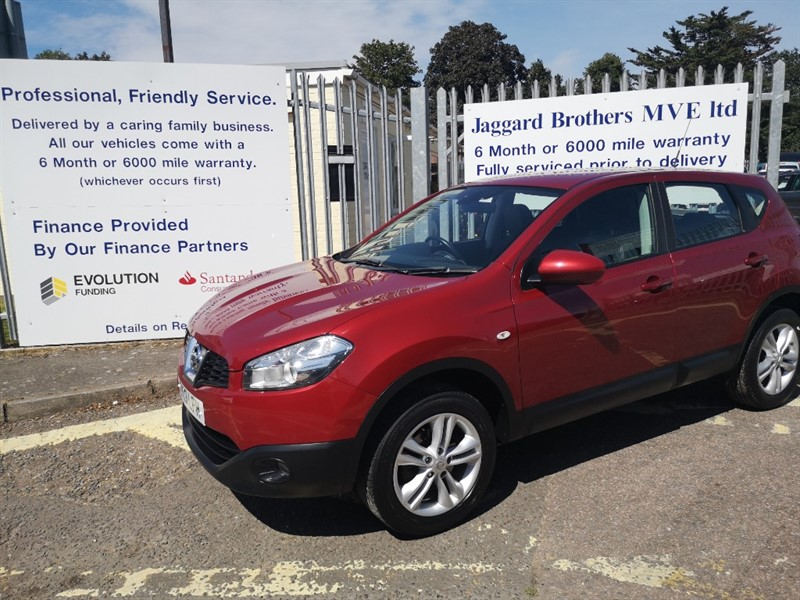 used Nissan Qashqai ACENTA in Newmarket-Suffolk