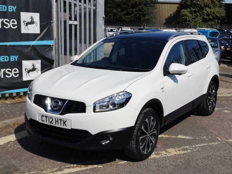 used Nissan Qashqai PLUS 2 N-TEC PLUS in Newmarket-Suffolk