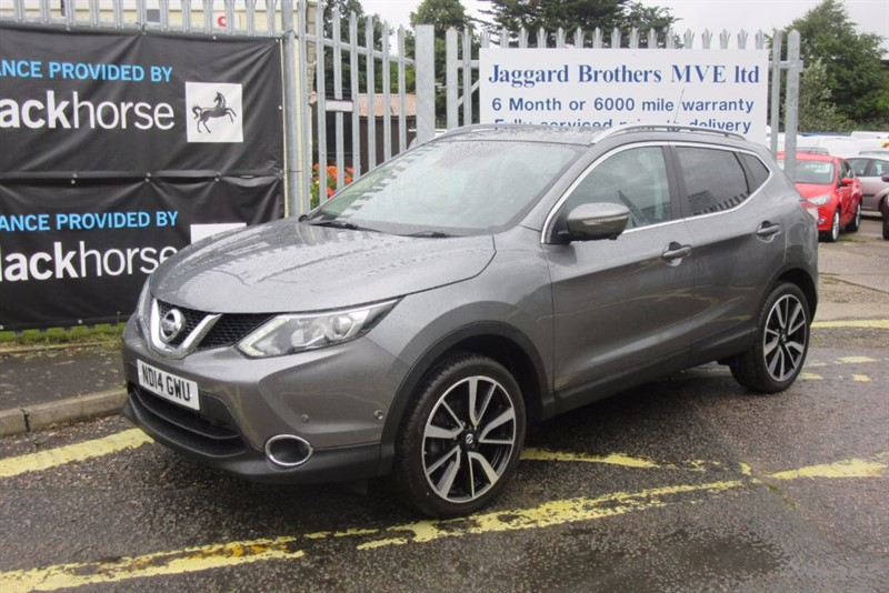 used Nissan Qashqai TEKNA DIG-T in Newmarket-Suffolk