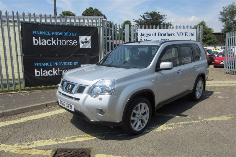 used Nissan X-Trail TEKNA DCI in Newmarket-Suffolk