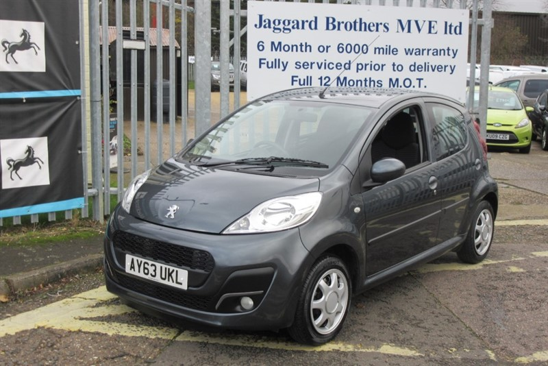 used Peugeot 107 ACTIVE in Newmarket-Suffolk