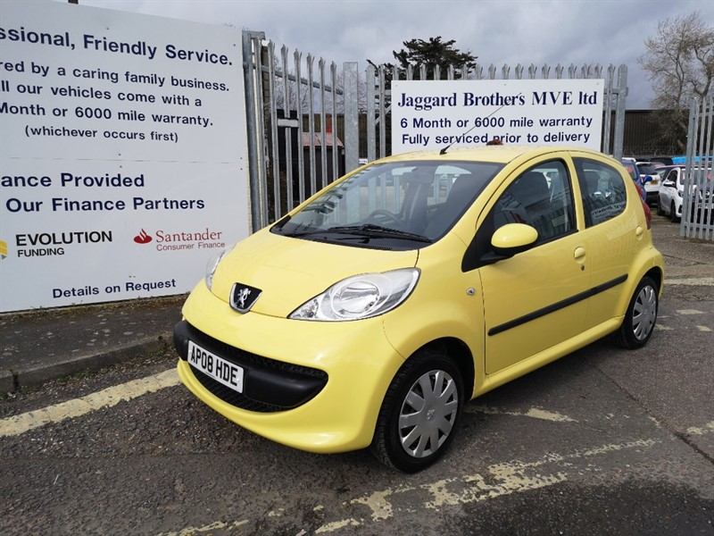 used Peugeot 107 URBAN in Newmarket-Suffolk