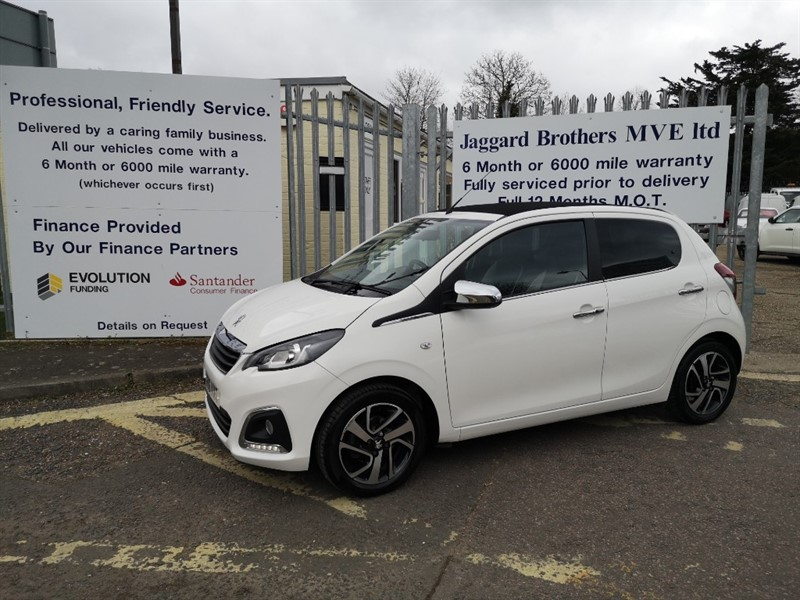 used Peugeot 108 ALLURE TOP in Newmarket-Suffolk