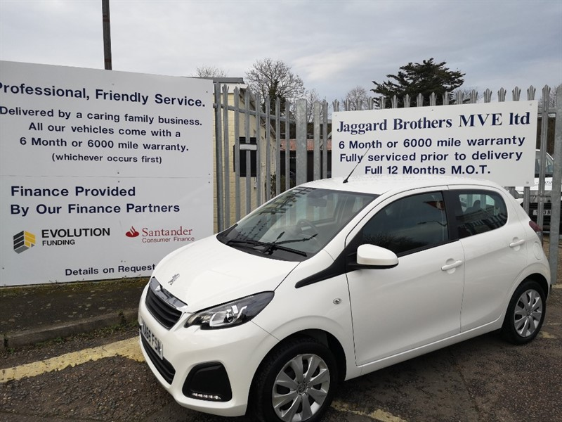 used Peugeot 108 ACTIVE in Newmarket-Suffolk