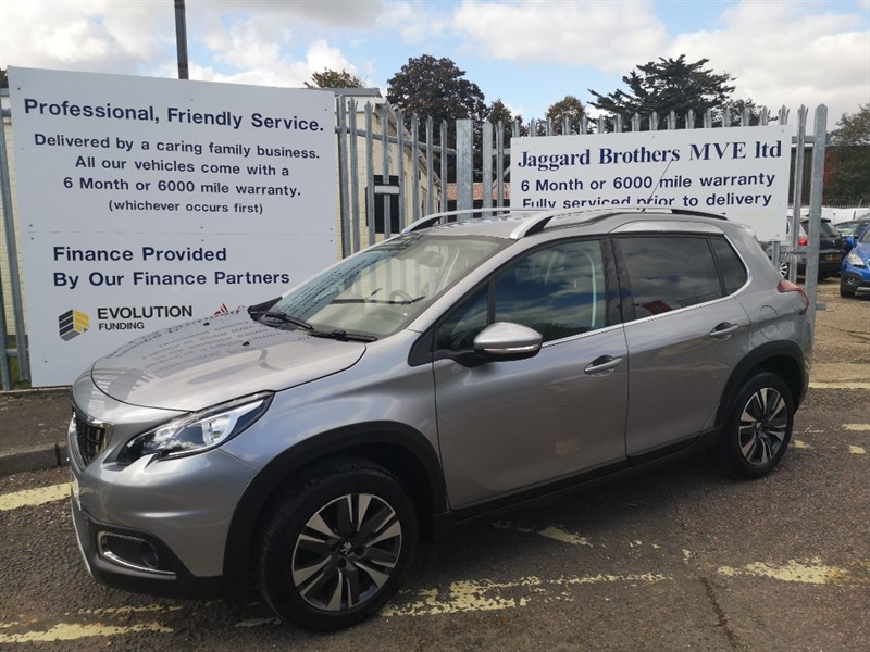 used Peugeot 2008 ALLURE in Newmarket-Suffolk