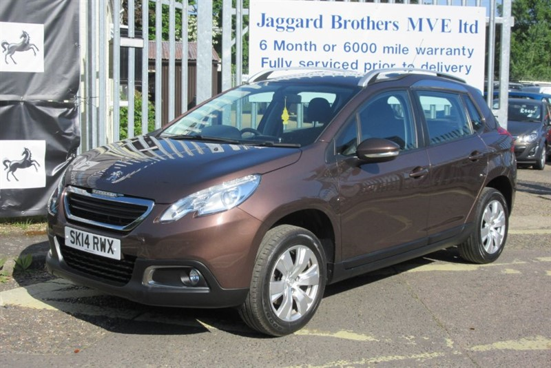 used Peugeot 2008 ACTIVE in Newmarket-Suffolk