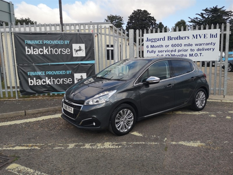 used Peugeot 208 ALLURE in Newmarket-Suffolk