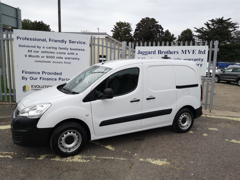 used Peugeot Partner HDI SE L1 625 in Newmarket-Suffolk