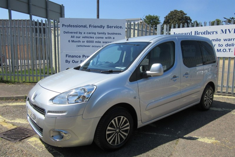used Peugeot Partner Tepee E-HDI TEPEE S in Newmarket-Suffolk