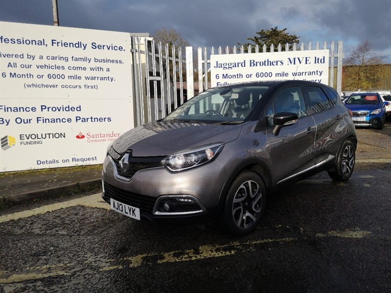 used Renault Captur DYNAMIQUE S MEDIANAV ENERGY TCE S/S in Newmarket-Suffolk
