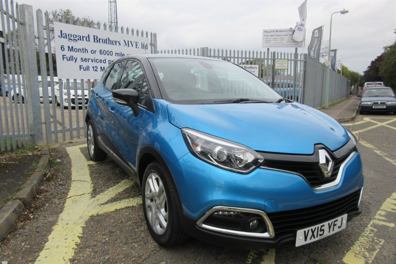 used Renault Captur DYNAMIQUE NAV TCE in Newmarket-Suffolk