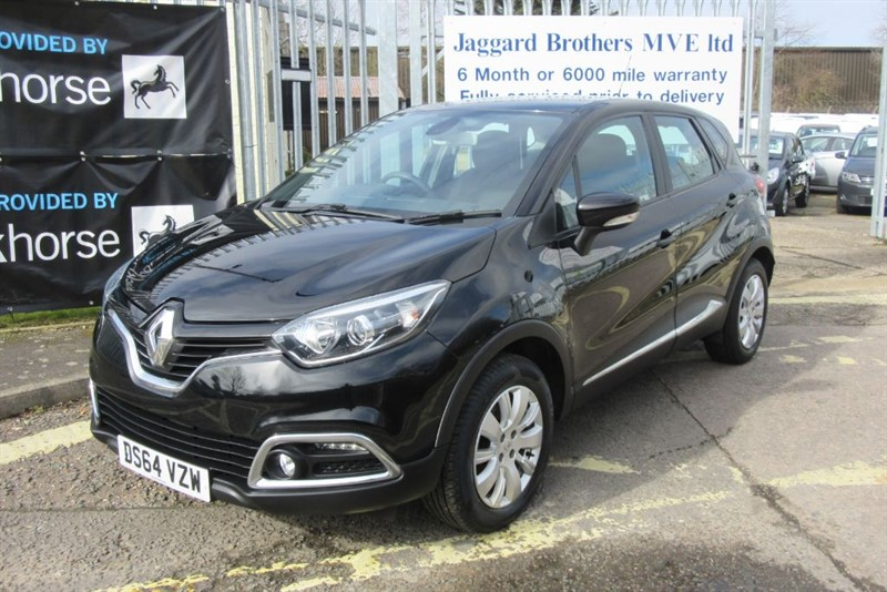 used Renault Captur EXPRESSIONPLUS CONVENIENCE ENERGYTCE S/S in Newmarket-Suffolk