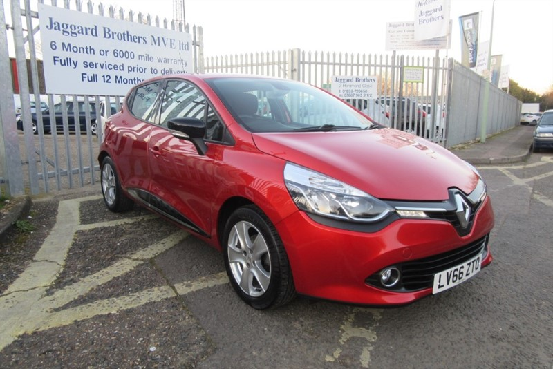 used Renault Clio DYNAMIQUE NAV 16V in Newmarket-Suffolk