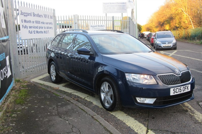 used Skoda Octavia SE TDI in Newmarket-Suffolk