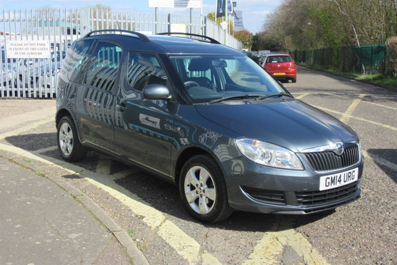 used Skoda Roomster SE TSI in Newmarket-Suffolk