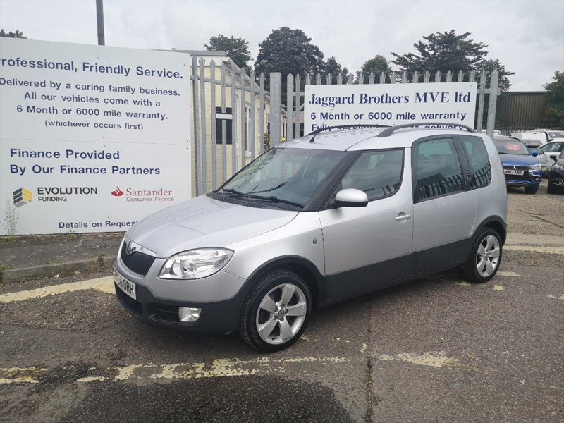 used Skoda Roomster ROOMSTER SCOUT TDI in Newmarket-Suffolk