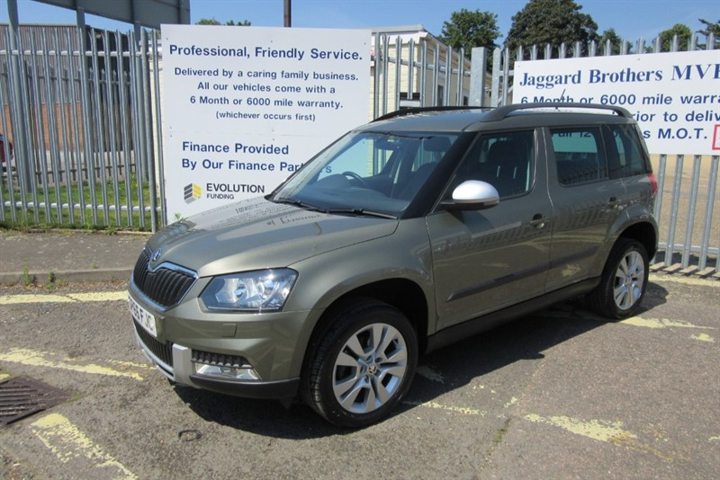 used Skoda Yeti OUTDOOR SE L TSI DSG in Newmarket-Suffolk