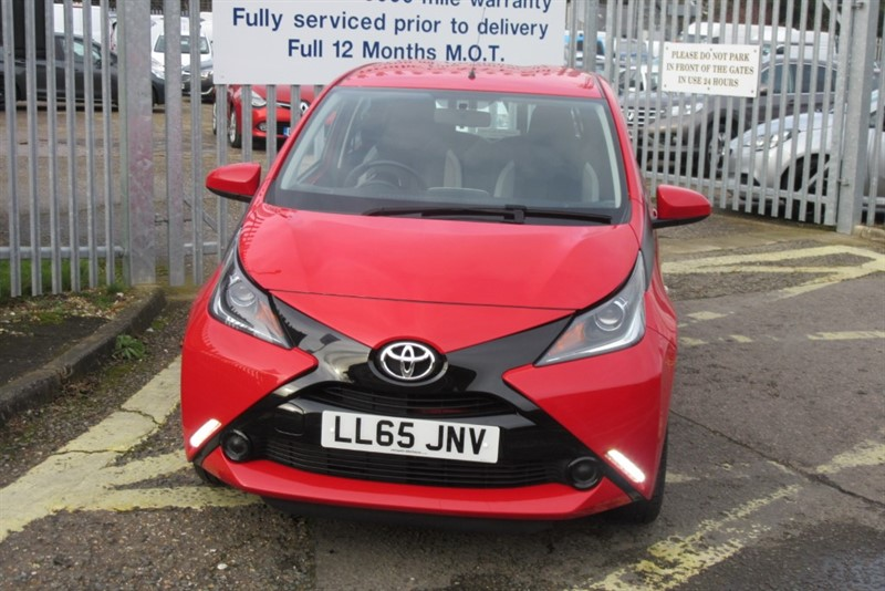 used Toyota Aygo VVT-I X-PLAY in Newmarket-Suffolk
