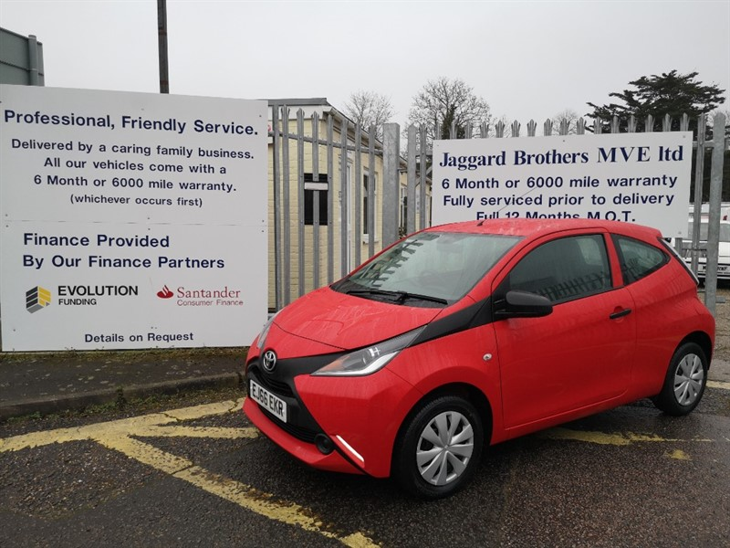 used Toyota Aygo VVT-I X in Newmarket-Suffolk