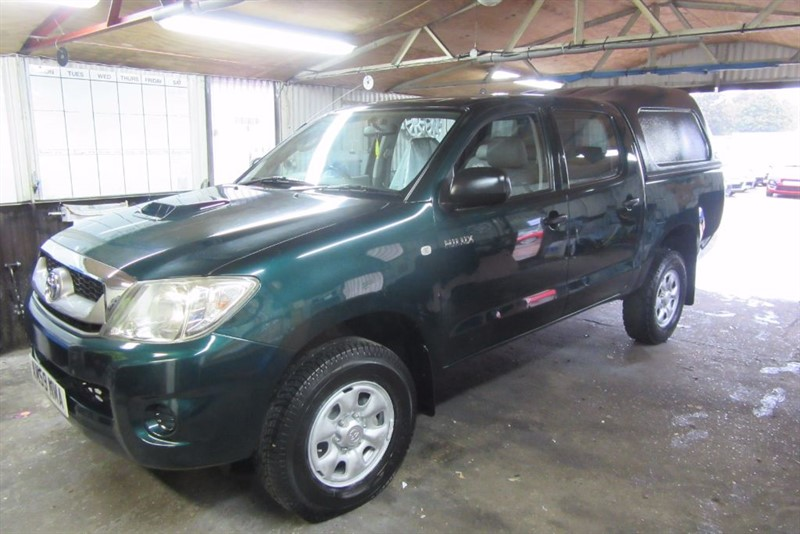 used Toyota Hilux D-4D-120 HL2 4WD in Newmarket-Suffolk