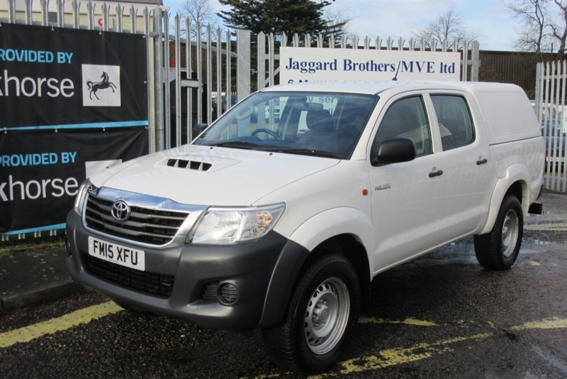 used Toyota Hilux ACTIVE 4X4 D-4D DCB in Newmarket-Suffolk